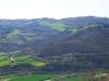 vista sulla valle del Chiascio