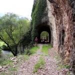 Un tratto del percorso della ex ferrovia Spoleto-Norcia
