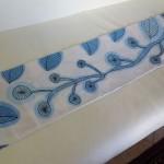 Imparare a dipingere su stoffa fiori per foulard